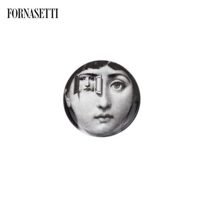 Picture of Fornasetti Coaster Tema e Variazioni n°116 black/white