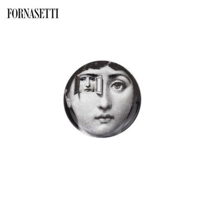 Picture of Fornasetti Coaster Tema e Variazioni n°116 black/white