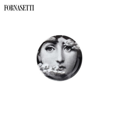 Picture of Fornasetti Coaster Tema e Variazioni n°139 black/white