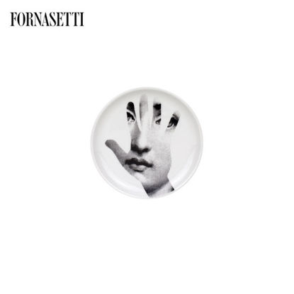 Picture of Fornasetti Coaster Tema e Variazioni n°15 black/white