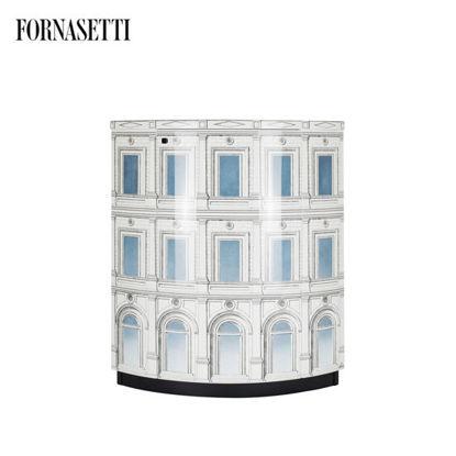 Picture of Fornasetti Corner cabinet Architettura celeste