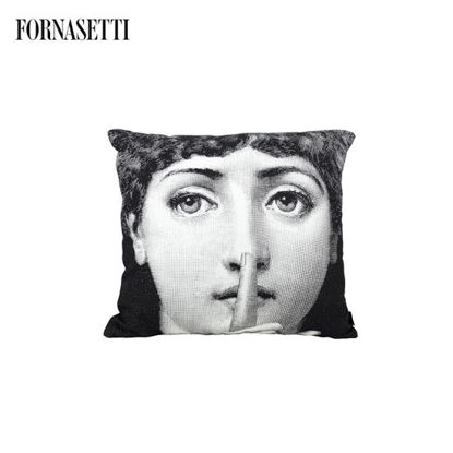 Picture of Fornasetti Cushion Silenzio