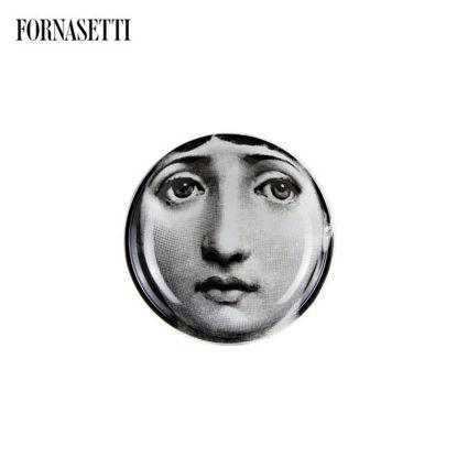 Picture of Fornasetti Round ashtray Tema e Variazioni n°1 black/white