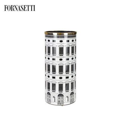 Picture of Fornasetti Umbrella stand Architettura black/white