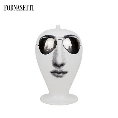 Picture of Fornasetti Vase Paris Tour black/white/platinum
