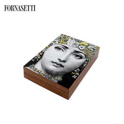 Picture of Fornasetti Wooden box Flora colour