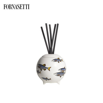 Picture of Fornasetti Sardine Bianco Diffusing Sphere