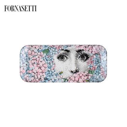 Picture of Fornasetti Tray 26x60 Ortensia colour
