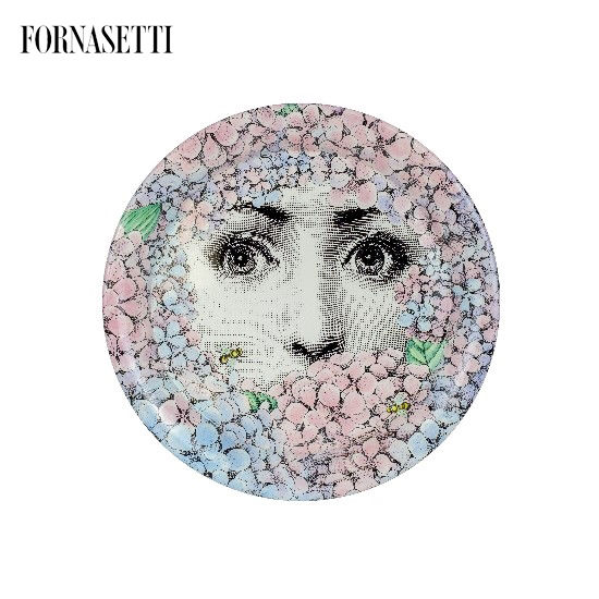 Picture of Fornasetti Tray ø40 Ortensia colour