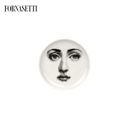 Picture of Fornasetti Coaster Tema e Variazioni n°6 black/white
