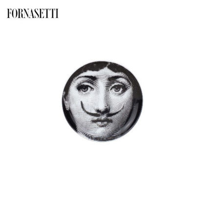 Picture of Fornasetti Coaster Tema e Variazioni n°21 black/white