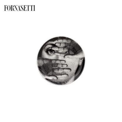 Picture of Fornasetti Coaster Tema e Variazioni n°154 black/white