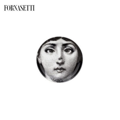 Picture of Fornasetti Coaster Tema e Variazioni n°363 black/white