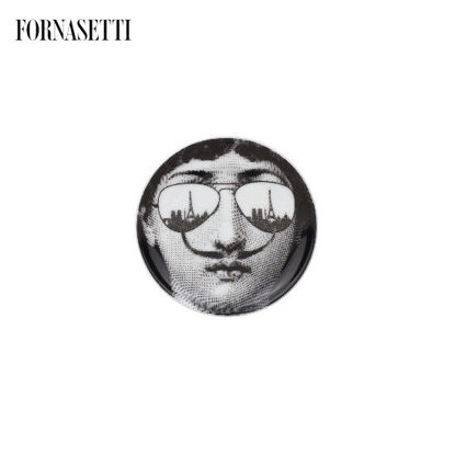 Picture of Fornasetti Coaster Tema e Variazioni n°373 black/white