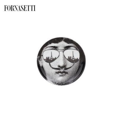 Picture of Fornasetti Coaster Tema e Variazioni n°373 black/white