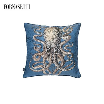 Picture of Fornasetti Silk cushion Polipo