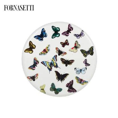 Picture of Fornasetti Bar stool Farfalle colour/white