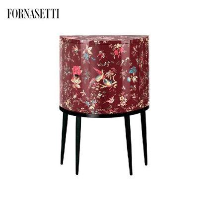 Picture of Fornasetti Consolle Coromandel colour/silver/carmine