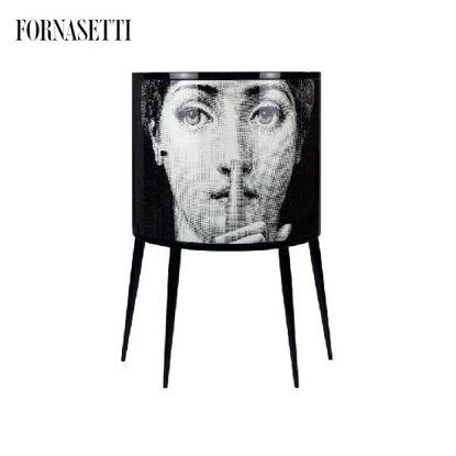 Picture of Fornasetti Consolle Silenzio black/white