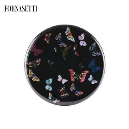 Picture of Fornasetti Bar Stool Farfalle colour/black