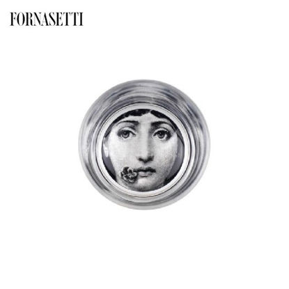 Picture of Fornasetti Glass Tema e Variazioni n°137 black/white