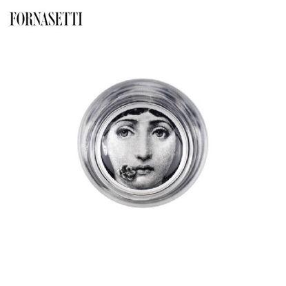 Picture of Fornasetti Glass Tema e Variazioni n°137 black/white
