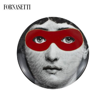 Picture of Fornasetti Porcelain Wall plate Tema e Variazioni n°22 - Don Giovanni