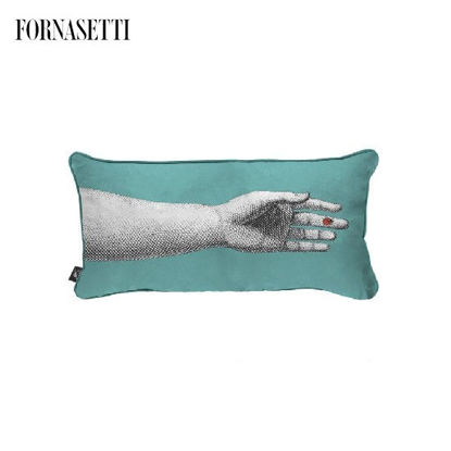 Picture of Fornasetti Silk cushion Mano
