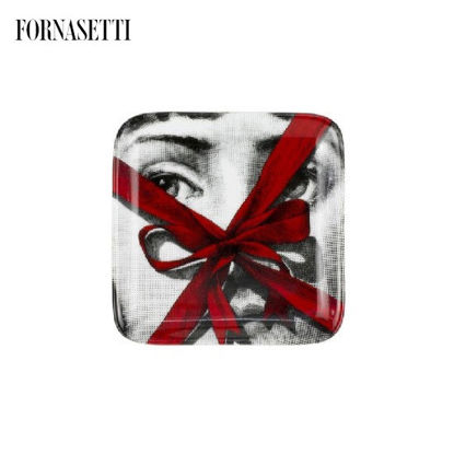 Picture of Fornasetti Square ashtray Gift colour