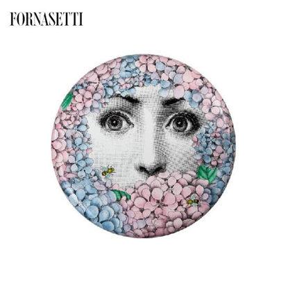 Picture of Fornasetti Stool Ortensia colour