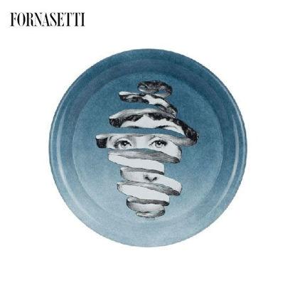 Picture of Fornasetti Tray ø40 Melafisico colour