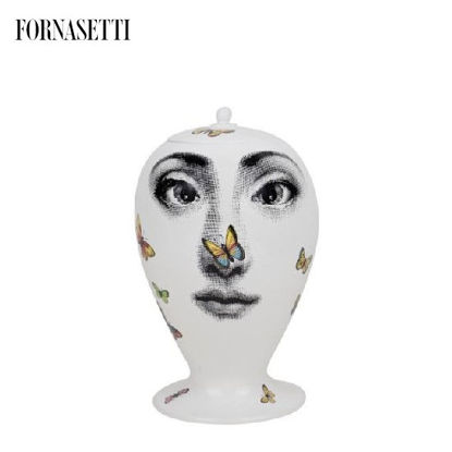Picture of Fornasetti Vase Farfalle colour