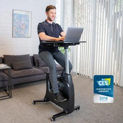 Picture of Flexispot All-in-One Desk Bike – Deskcise Pro™ V9 (Black)