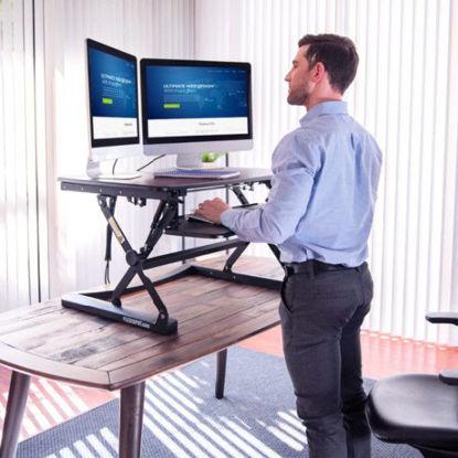 Picture of Flexispot ClassicRiser Standing Desk Converter 27″ M1B - Black