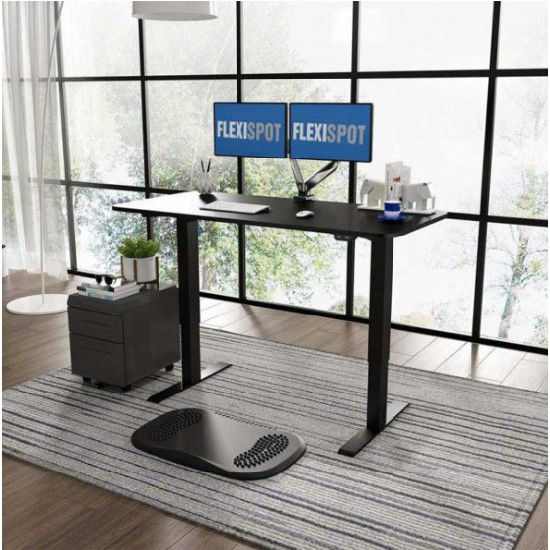 Picture of Flexispot Electric Height-Adjustable Standing Desk 2-Stage E2E: Frame + Tabletop (1200x600mm)