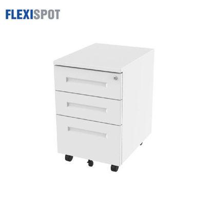 Picture of Flexispot Mobile Pedestal CB31 - White