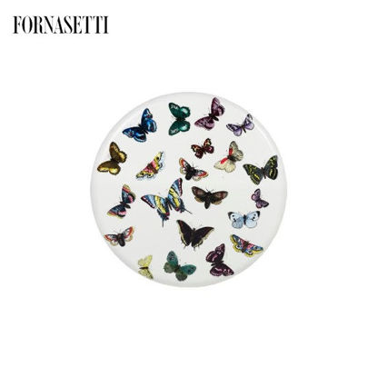 Picture of Fornasetti Stool Farfalle colour/white