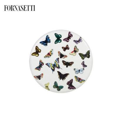 Picture of Fornasetti Stool Farfalle colour/white