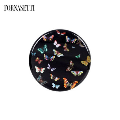 Picture of Fornasetti Stool Farfalle colour/black