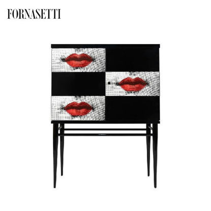 Picture of Fornasetti Raised small sideboard Kiss colour