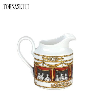 Picture of Fornasetti Milk jug Don Giovanni colour