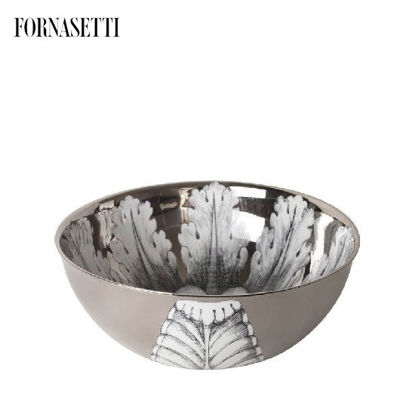 Picture of Fornasetti Centrepiece Rosone n°6 black/white/platinum