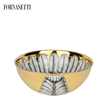 Picture of Fornasetti Centrepiece Rosone n°2 black/white/gold