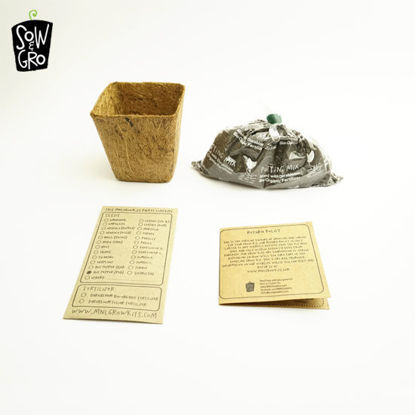 Picture of Sow & Grow Seedling Kit - Zinnia