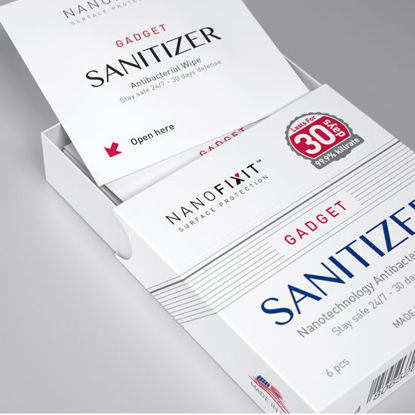 Picture of Nanofixit Gadget Sanitizer - 6 Pack