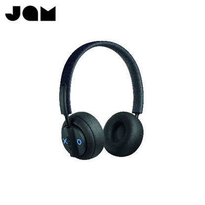 Picture of JAM AUDIO Out There On-Ear Wireless ANC Headphones - Black