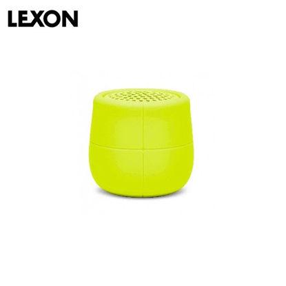 Picture of LEXON Mino X Water Resistant FLOATING BT Speaker - Acid Yellow