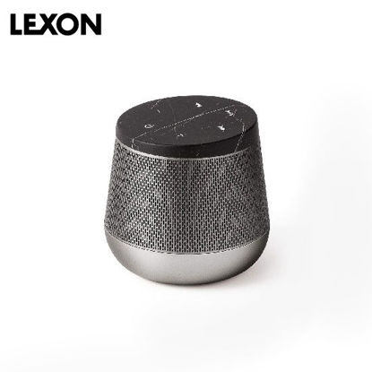 Picture of LEXON Miami Sound BT Speaker - Black Marble / Gunmetal