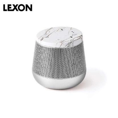 Picture of LEXON Miami Sound BT Speaker - White Marble / Aluminum