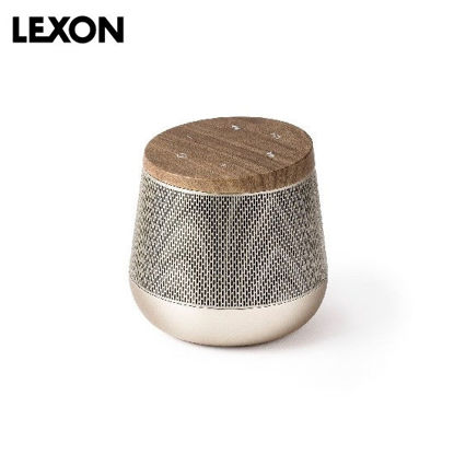 Picture of LEXON Miami Sound BT Speaker - Wood / Soft Gold